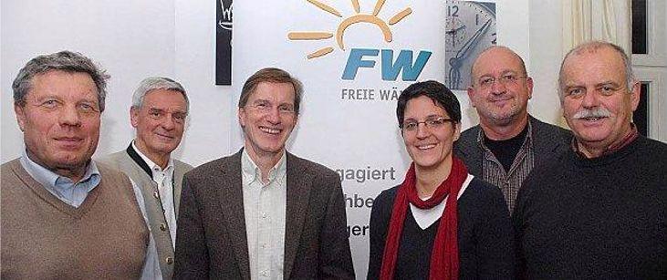 Vorstandschaft der FW Altötting seit November 2012