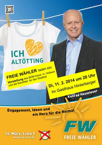 Wahlplakat-Oberholzhausen